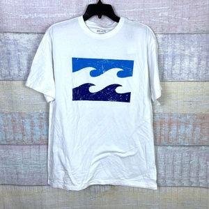 Billabong Men's Inverse Logo Core Fit Tee Shirt